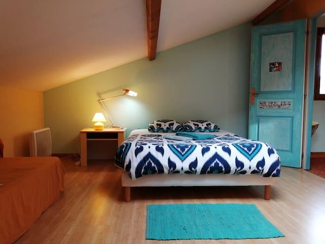 Chambre Privée - Saint-Savinien Le Buddleia Zen