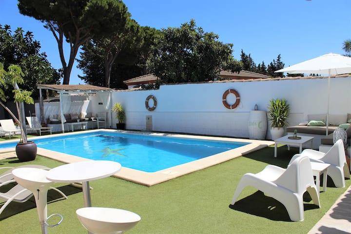 Villa LUNA. Casa ideal para familias y amigos.