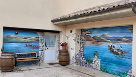 villa giulia (wifi + netflix). tavernetta