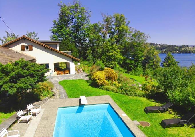 Lake Villa Lotus (private lake access) ❁ 3 rooms