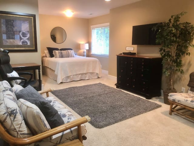 Spacious suite with privacy, views, and comfort
