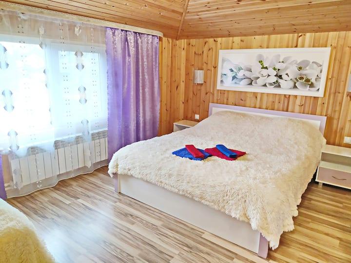 Апартаменты с 2 спальнями в усадьбе Муражье (47м2)