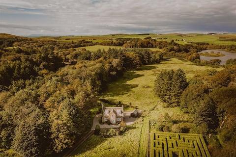 Rural Magic: Home on Vast Private Seaside Estate
