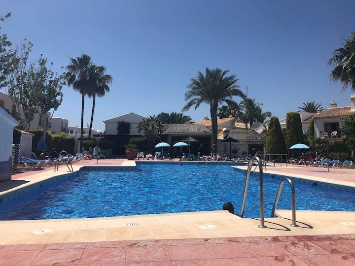 Lovely Apt Vera Playa, 2 outdoor pools & Beach