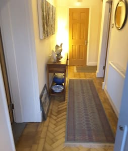 """The hallway is 51"""" (130cm) wide, although furniture reduces this width to 36"""" (91.5cm)"""