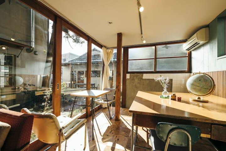 ゲストハウスとりいくぐる 1〜2人で泊まれる個室