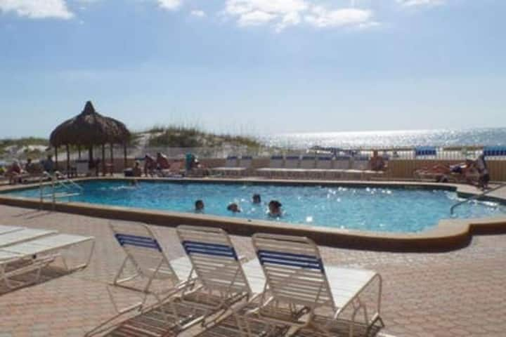 Relax just steps from Gulf of Mexico ocean & beach