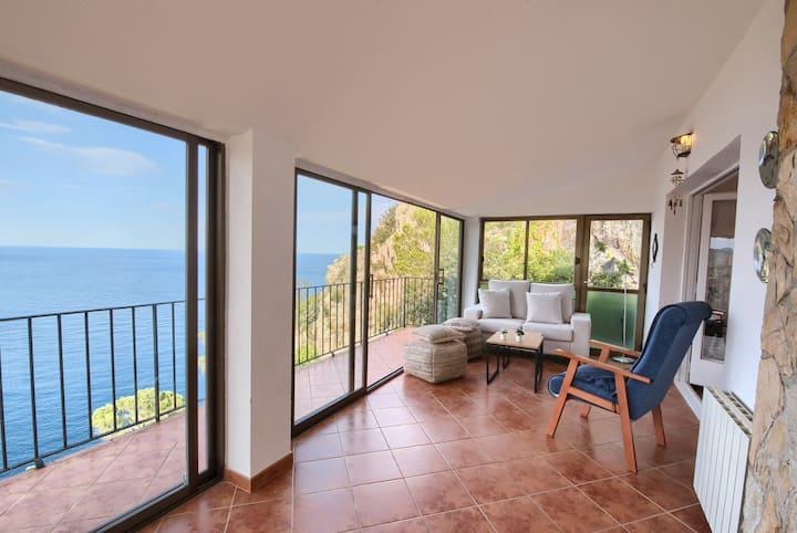 Magnifique villa avec vue sur la mer d'Aiguablava.