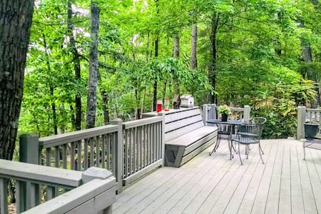 Your private deck is just off your two space private parking and leads directly to your front door keypad & apartment.