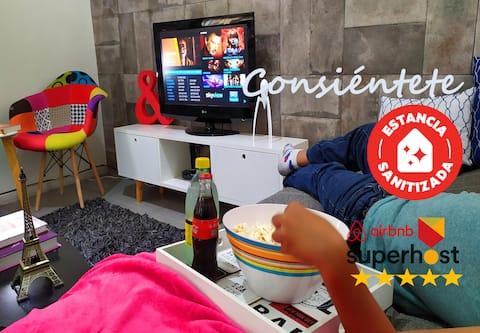 Disfruta tu Casa con Wifi y aire acondicionado