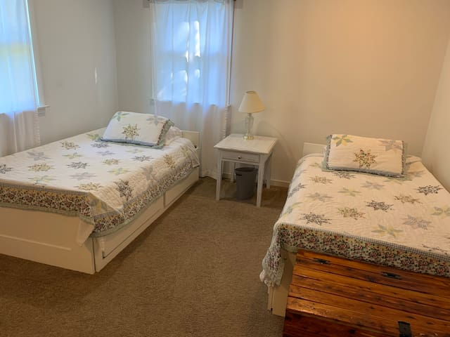BEDROOM II -   2 Twin Beds - Rollaway bed available upon request