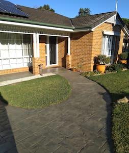 flat path to front door