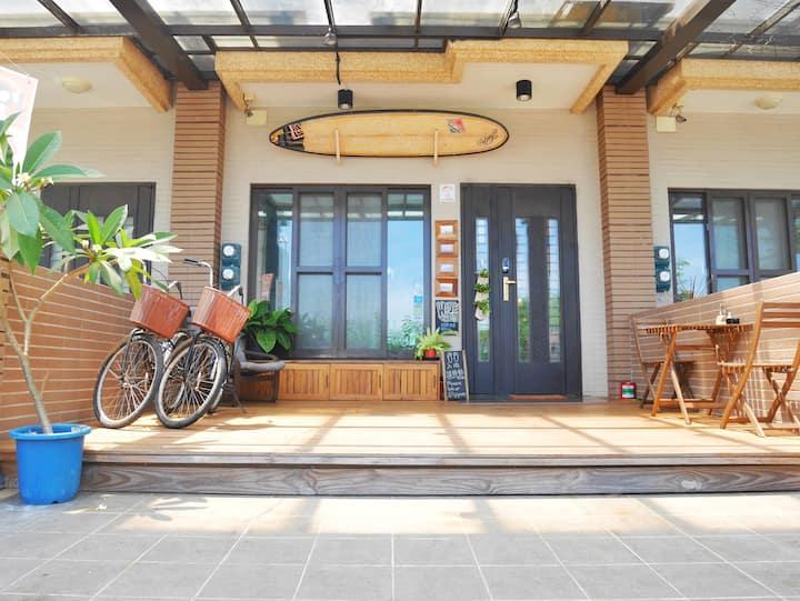 WAVE 青年旅店 Backpackers 背包客 1床位 平價便宜+高級享受 頭城車站 國光客運