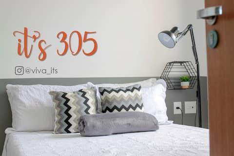 It's 305: Apartamento completo perto da praia