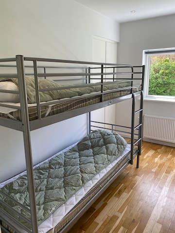 Soveværelse med køjeseng