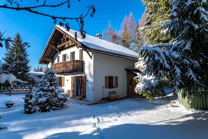 Schneehaus Lodge, designer ski-chalet in Ehrwald.