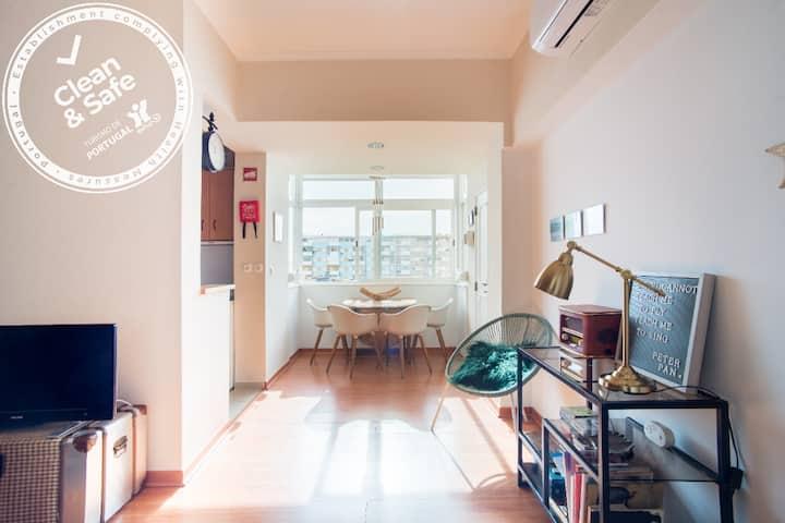 Clean & Safe - Home in Caparica/Lisbon - sea view