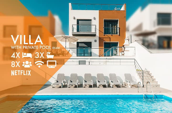 Luxury Villa Sunset Paradise 2 ★ Pool & Sea View