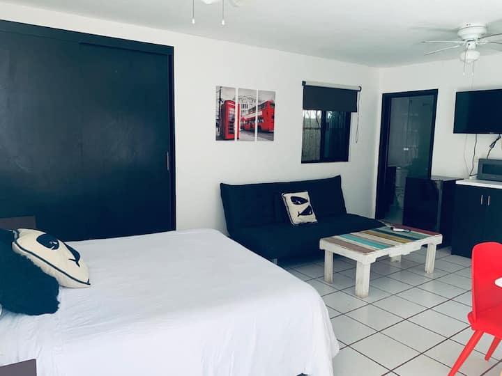 Habitación ideal para parejas en el centro