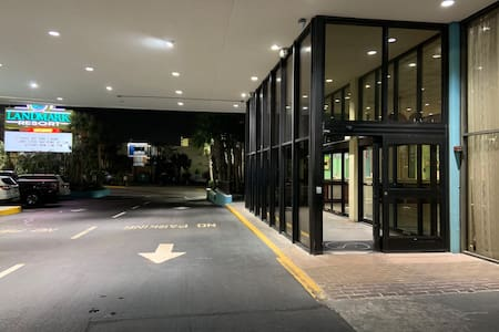 Main entrance to Landmark Resort