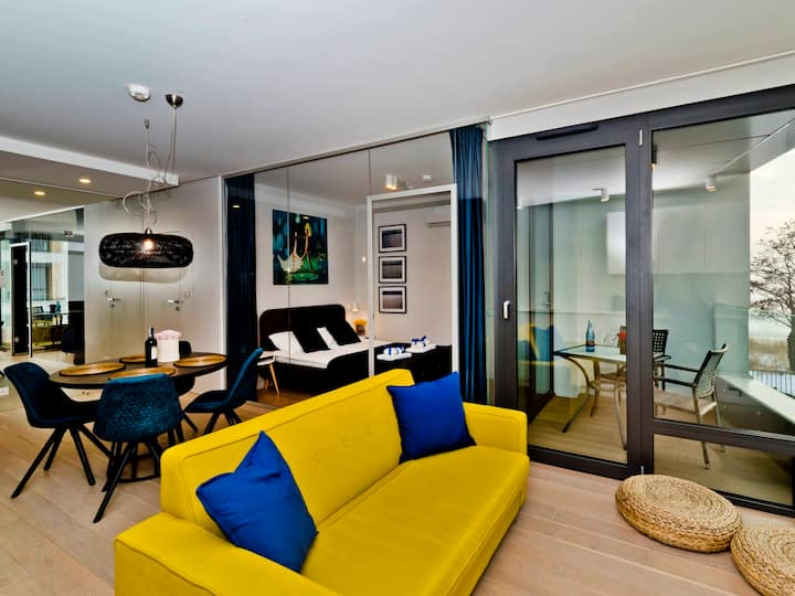 Seaview apartment/Widokowy z tarasem ZK 22