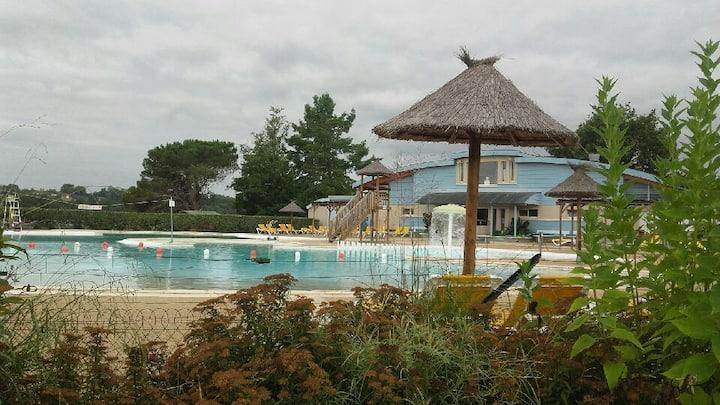 appart 1 chb BARBOTAN Gers lac UBY piscine à 1km