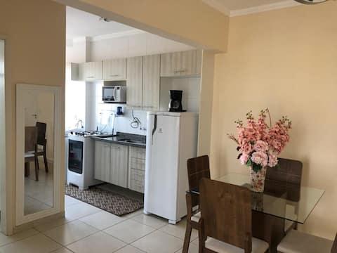 Apartamento novo, 1 quarto, Jardim Estoril, Bauru