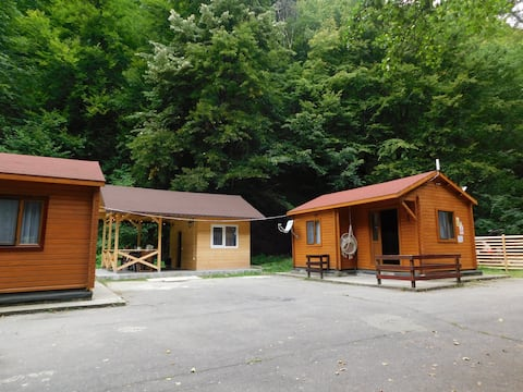 Cozy chalets @Sound of Nature