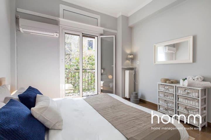 Charming 102m² homm flat next to the Acropolis 2bd