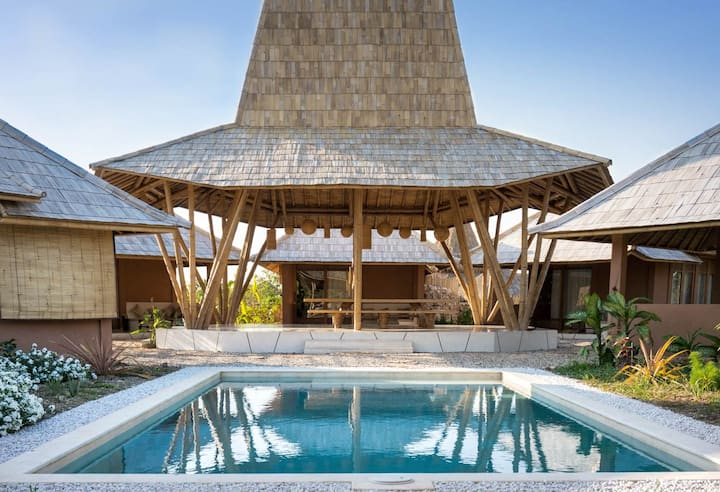 Pool villa at Maringi Sumba