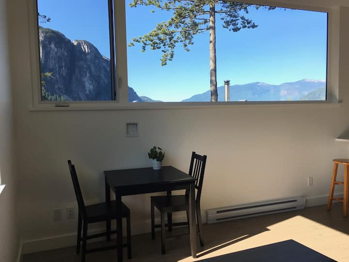 Self contained suite with breathtaking view.