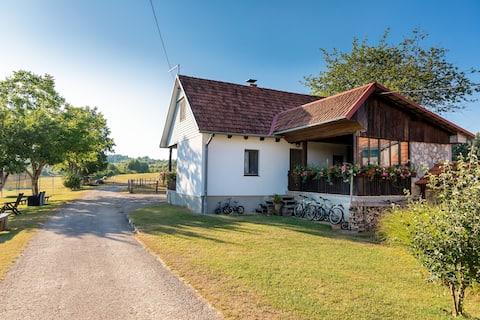 Country style house near Slunj