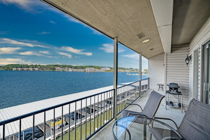 LAKEFRONT CONDO! Amazing views, OUTSTANDING patio!