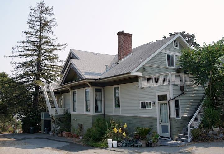 Marin Edwardian Mansion w/ San Francisco Bay Views