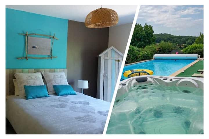 Belloréade Chambre d'hôtes Saona Spa et piscine