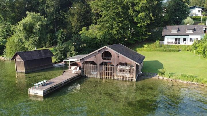 Gemütliches Haus für 9 direkt am Traunsee