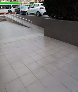 Stairs free ramp for wheelchairs and baby gear