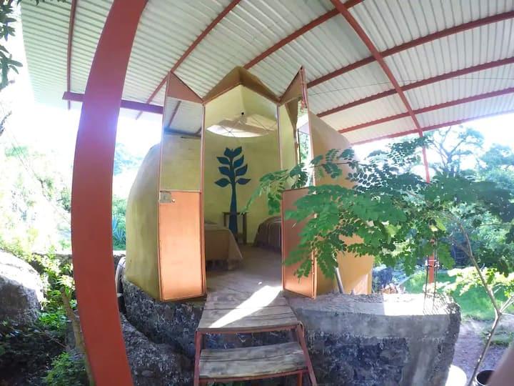 """""""Rustic dome"""" n2 Tepoztlan  (San Andres de la cal)"""