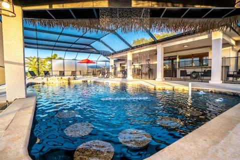 Paradise Resort   Pool   FREE Heated Spa & Kayaks