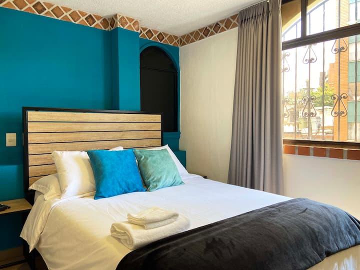 Standard Room | Casa Santafe - Coliving Hotel