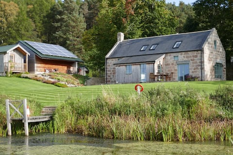 A converted mill on the cycle track out of Aboyne