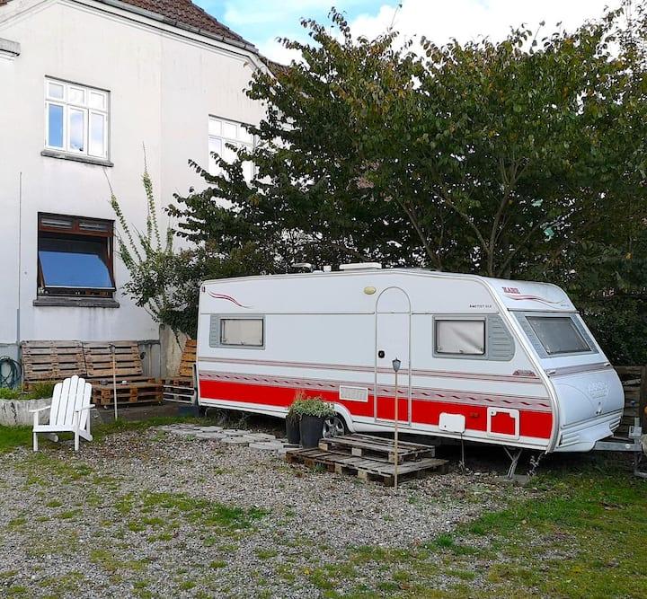 Hyggelig campingvogn nær Aalborg centrum
