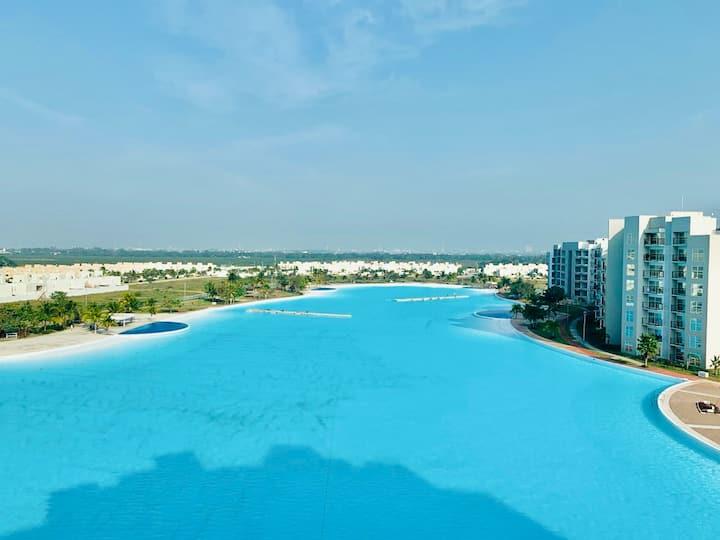Dream Lagoons Veracruz. Nuevo.Vista impresionante!