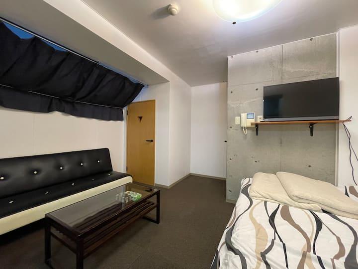 102北海道大学・大学病院徒歩圏内!コンクリート打放し調デザインアパートメント☆室内美室です!