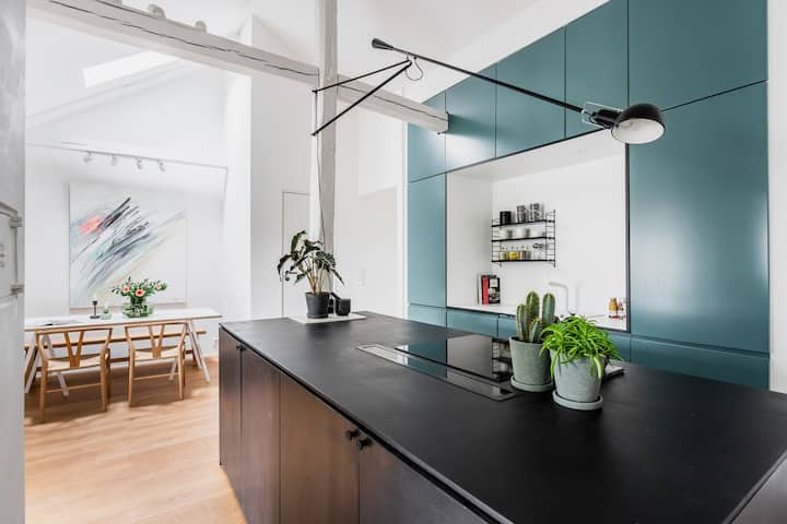 Amazing design loft in the heart of Oslo