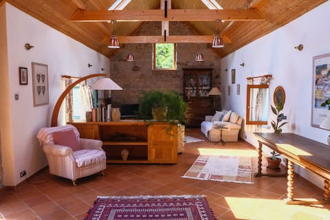 Relax in a Renovated Farm Building