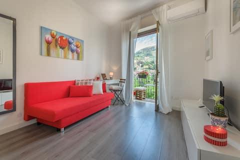 Апартамент в центъра на Таормина.
