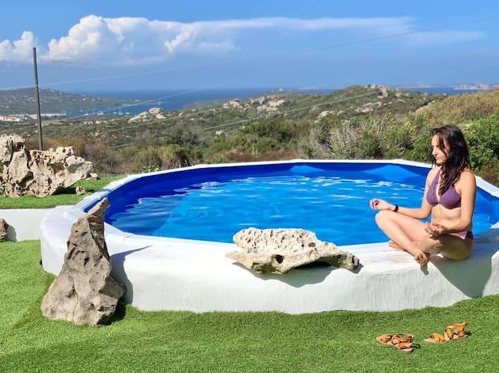 Villa vista mare e piscina, San Pasquale S. Teresa
