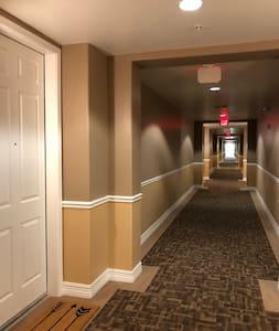 Hallway from elevator