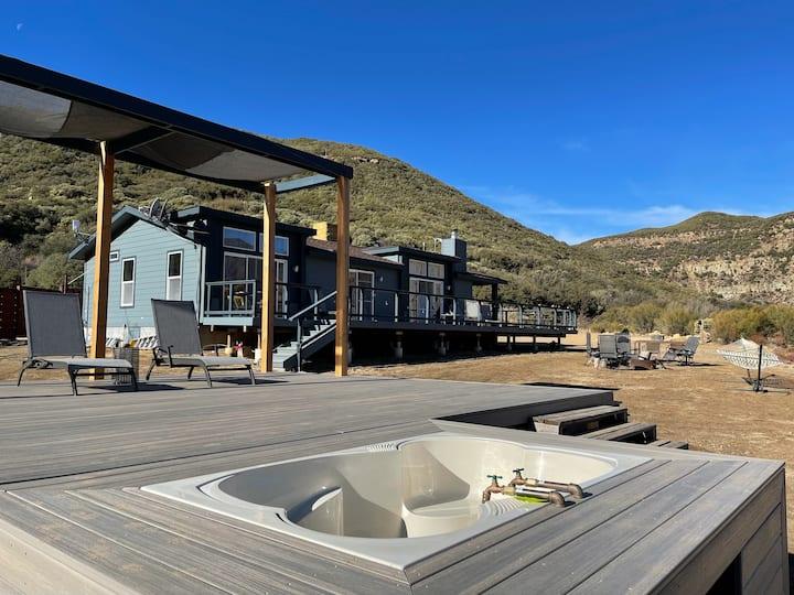 Ojai Wilderness Mountains - Sespe Retreat House
